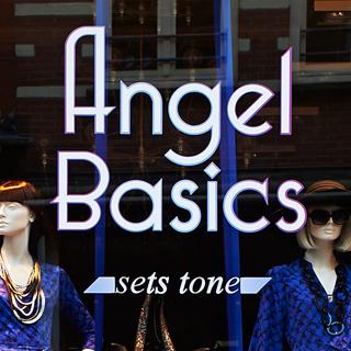 Retailshop brand met logo en kernwaarde