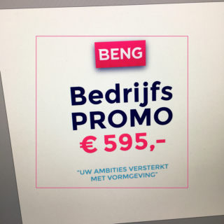 BENG ⇓ promo-aanbod